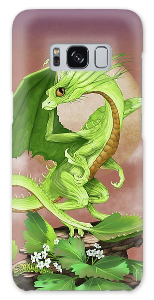 Celery Dragon Galaxy Case by Stanley Morrison