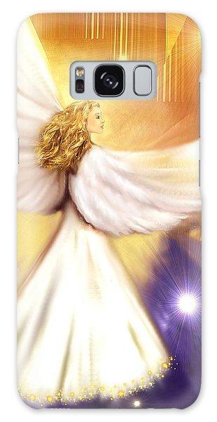 Celestial Angel Galaxy Case