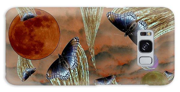 Celestial Butterflies Galaxy Case