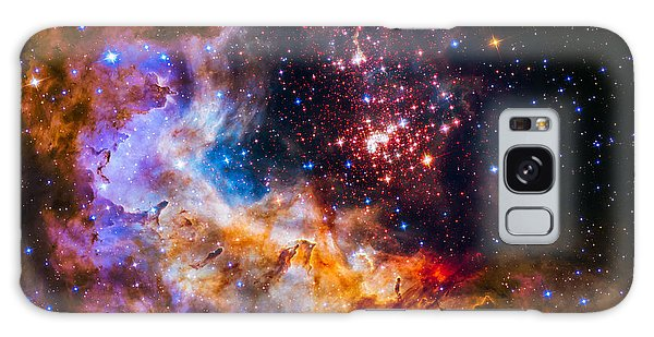 Celestial Fireworks Galaxy Case by Marco Oliveira