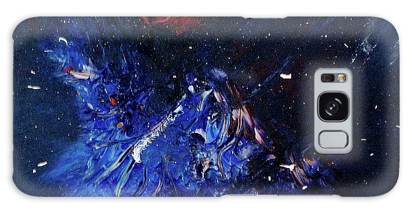 Galaxy Case featuring the painting Celestial Harmony by Michael Lucarelli