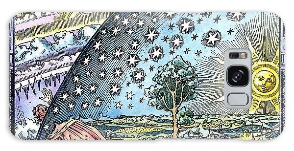 Celestial Mechanics, Medieval Artwork Galaxy Case