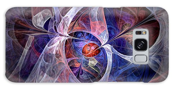 Celestial North - Fractal Art Galaxy Case
