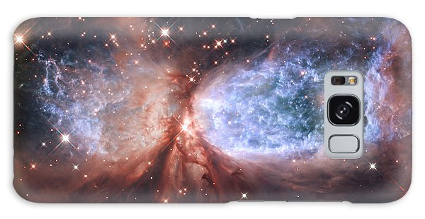 Celestial Snow Angel Galaxy Case