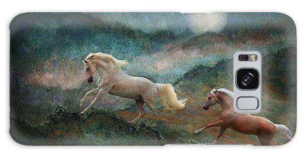 Celestial Stallions Galaxy Case