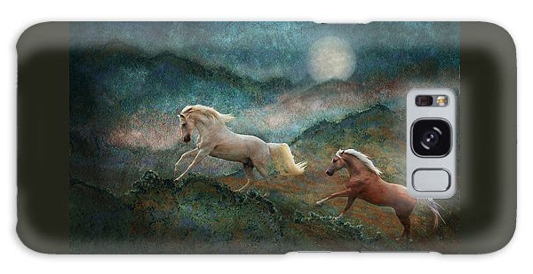 Celestial Stallions Galaxy Case by Melinda Hughes-Berland