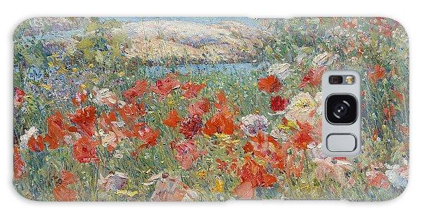 Celia Thaxter's Garden, Isles Of Shoals, Maine Galaxy Case