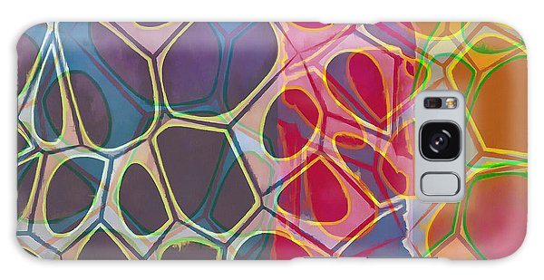 Cell Abstract 11 Galaxy Case by Edward Fielding