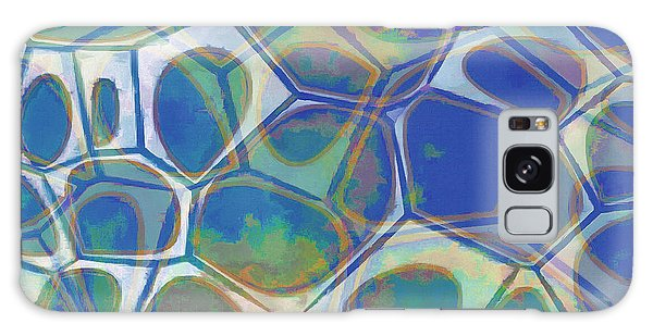 Galaxy Case - Cell Abstract 13 by Edward Fielding