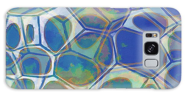 Cell Abstract 13 Galaxy Case by Edward Fielding