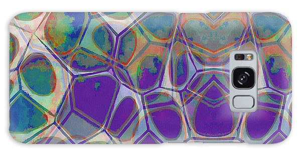 Cell Abstract 17 Galaxy Case by Edward Fielding