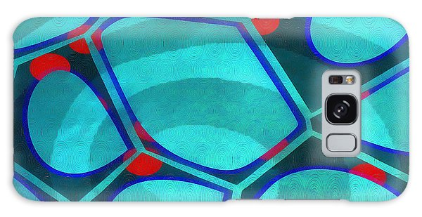 Galaxy Case - Cell Abstract 6a by Edward Fielding