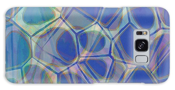 Cell Abstract One Galaxy Case by Edward Fielding