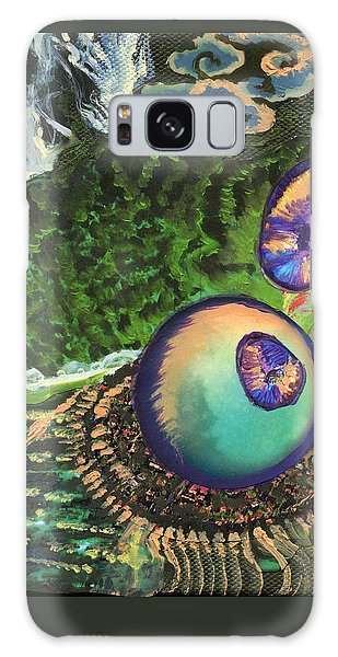 Cell Interior Microbiology Landscapes Series Galaxy Case by Emily McLaughlin