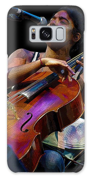 Cellist Galaxy Case by Jim Mathis