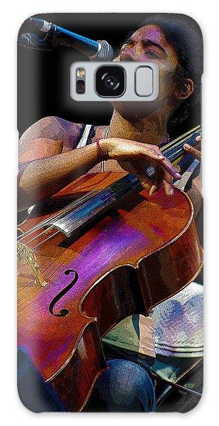 Cellist Galaxy Case