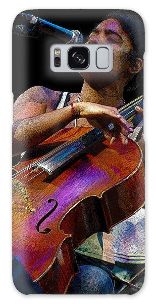 Cellist Galaxy Case