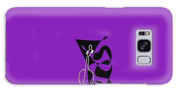 Cello In Purple Galaxy Case