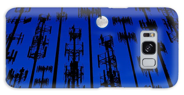 Cellphone Tower Forrest Galaxy Case
