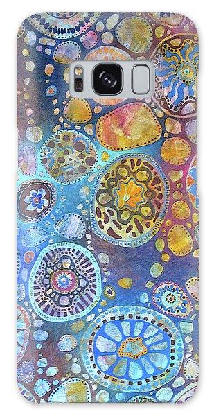 Cellular Fantasy I Galaxy Case by Anne Havard