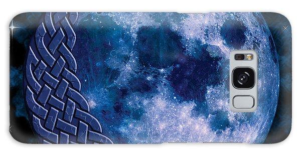 Celtic Blue Moon Galaxy Case