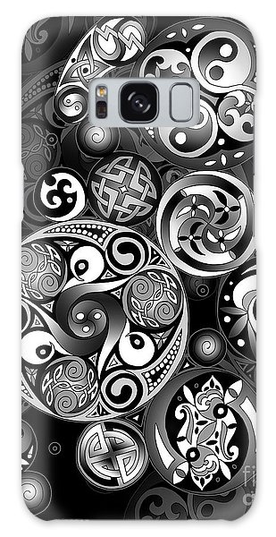 Celtic Clockwork Galaxy Case