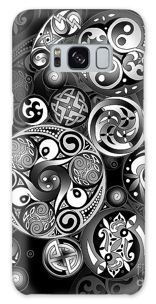 Celtic Clockwork Galaxy Case by Kristen Fox