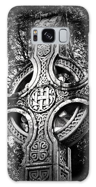 Celtic Cross Detail Killarney Ireland Galaxy Case