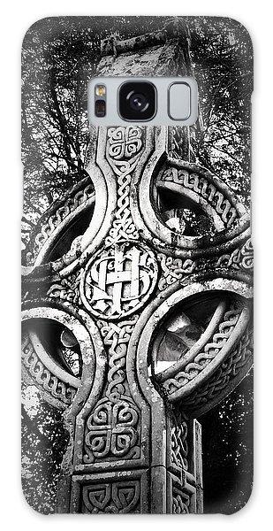 Celtic Cross Detail Killarney Ireland Galaxy Case