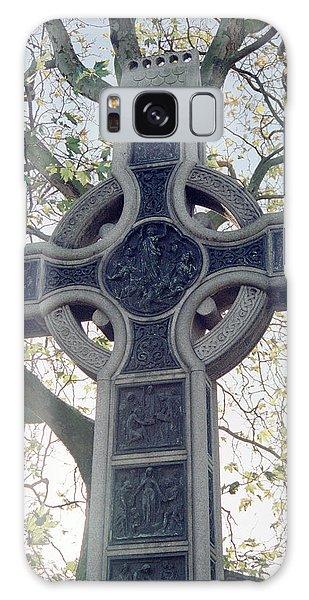 Celtic Cross Galaxy Case