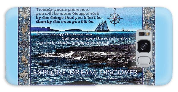 Celtic Explorer - Bluenose II In Halifax Harbour Galaxy Case