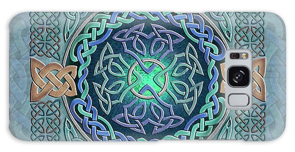 Celtic Eye Of The World Galaxy Case by Kristen Fox