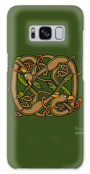 Celtic Hounds Knot Galaxy Case