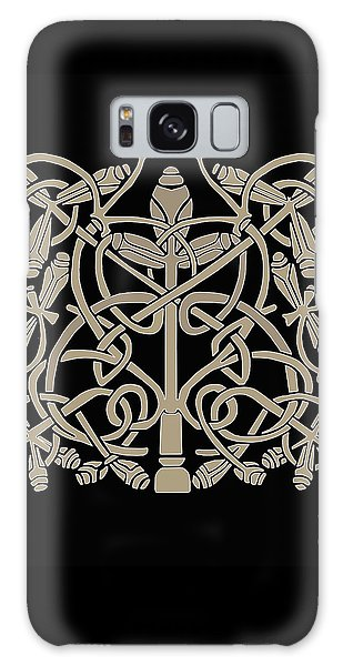 Celtic Leaves Knots One Galaxy Case