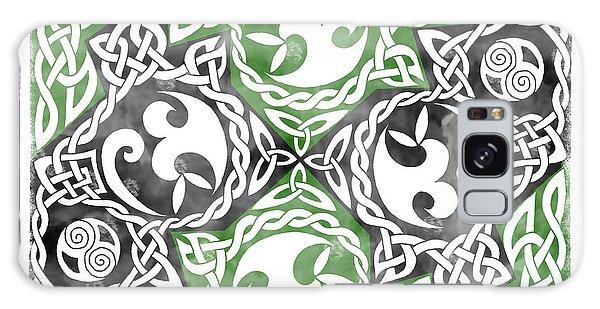 Celtic Puzzle Square Galaxy Case