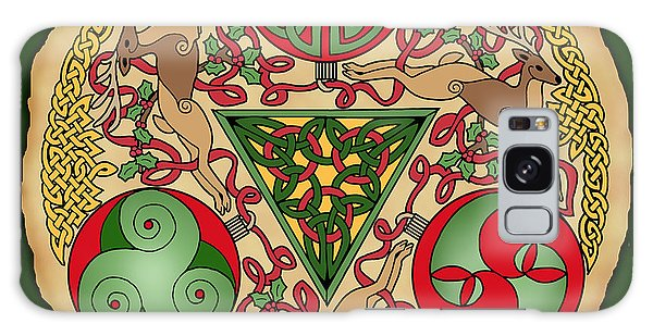 Celtic Reindeer Shield Galaxy Case
