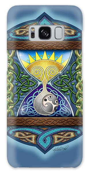 Celtic Sun Moon Hourglass Galaxy Case