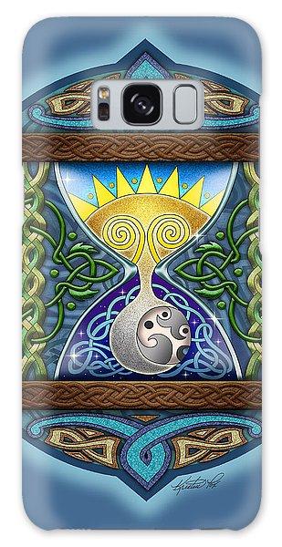 Celtic Sun Moon Hourglass Galaxy Case