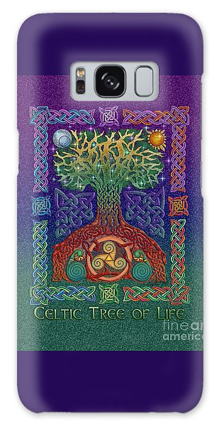 Celtic Tree Of Life Galaxy Case by Kristen Fox