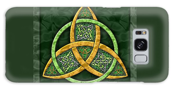 Celtic Trinity Knot Galaxy Case
