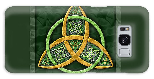 Celtic Trinity Knot Galaxy Case by Kristen Fox