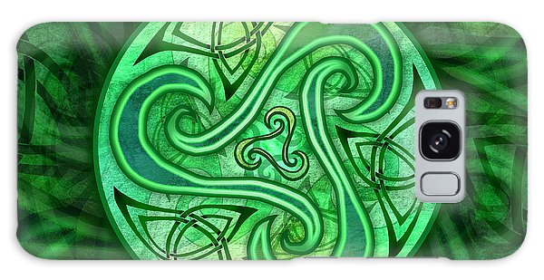 Celtic Triskele Galaxy Case by Kristen Fox