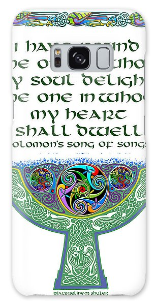 Celtic Wedding Goblet Galaxy Case