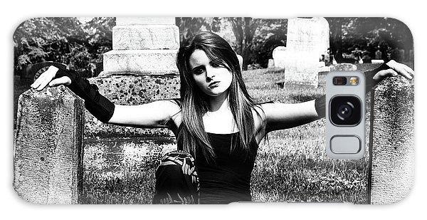 Cemetery Girl Galaxy Case