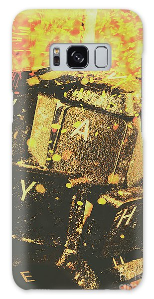 Technology Galaxy Case - Censorship As A Weapon by Jorgo Photography - Wall Art Gallery