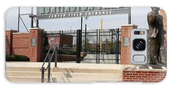 Center Field Entrance At Huntington Park  Galaxy Case by Laurel Talabere