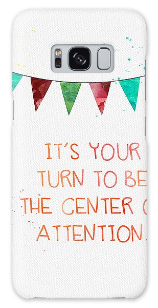 Celebration Galaxy Case - Center Of Attention- Card by Linda Woods