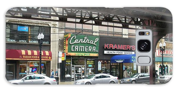 Central Camera On Wabash Ave  Galaxy Case