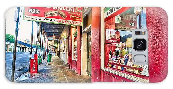 Central Grocery And Deli In The French Quarter Galaxy Case