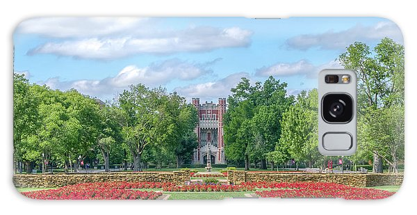 Oklahoma University Galaxy Case - Central Grounds And Gardens At University Of Oklahoma by Ken Wolter